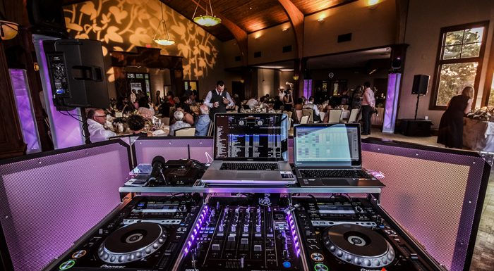 wedding events dj console 2
