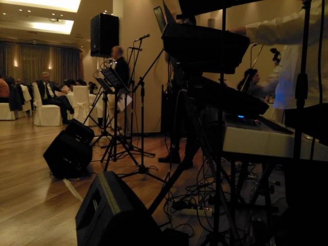 Live band setup